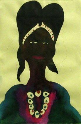Chris Ofili, Untitled, 1998