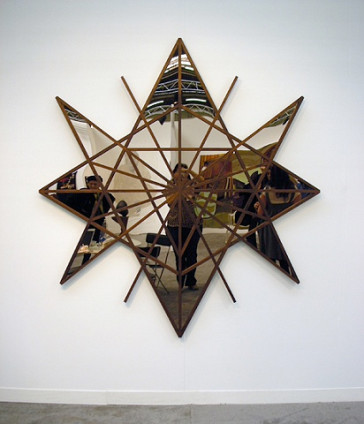 Marc Swanson Psychic Studies 2, 2007 182.9 x 198.1 x 5.1 cm 72 x 78 x 2 ins