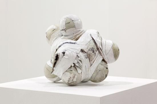 Neil Gall Remnant, 2010 Acrylic on bronze 11.5 x 14 x 12 cm 4 1/2 x 5 1/2 x 4 3/4 ins