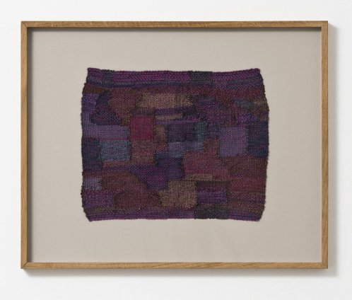 Sheila Hicks Rossignol / Nightingale - The Night Birds Song, 2002 Cotton, wool, steel fibre 32 x 26 cm / 12 5/8 x 10 1/4 ins