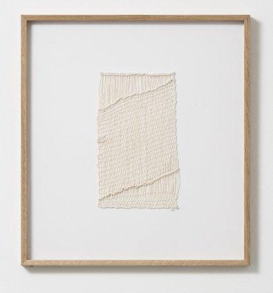 Sheila Hicks Port Bas Relief, 2011 Cotton, linen 24.5 x 15 cm / 9 5/8 x 5 7/8 ins
