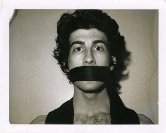 Robert Mapplethorpe Untitled (David Croland), 1972 Polaroid 10.9 x 13.4 cms / 4 1/8 x 5 1/4ins