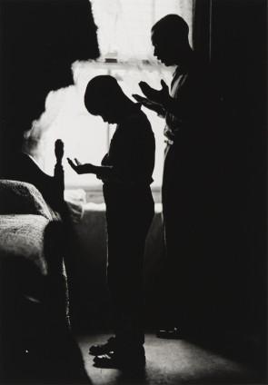 Gordon Parks Daily Prayer, Brooklyn, New York, 1963 Gelatin Silver Print 35.6 x 27.9 cm, 14 x 11 ins