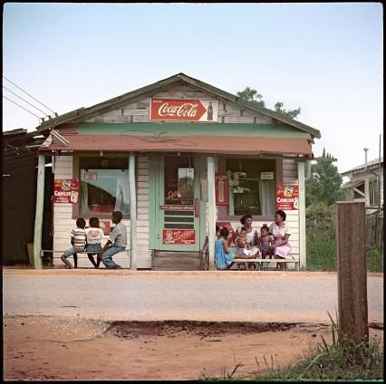 Gordon Parks Store Front, Mobile, Alabama, 1956 Archival Pigment Print 86.4 x 86.4 cm, 34 x 34 ins