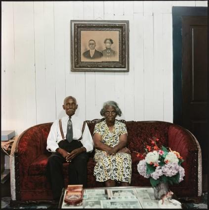 Gordon Parks Mr. and Mrs. Albert Thornton, Mobile, Alabama, 1956 Archival Pigment Print 106.7 x 106.7 cm, 42 x 42 ins