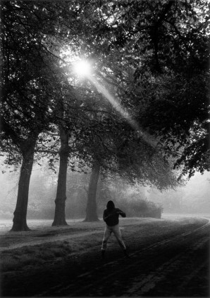 Gordon Parks, Muhammad Ali Trains in Hyde Park, London, England, 1966. © The Gordon Parks Foundation