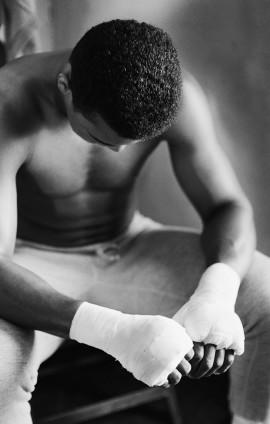 Gordon Parks, Muhammad Ali in Training, Miami Beach, Florida, 1966. © The Gordon Parks Foundation