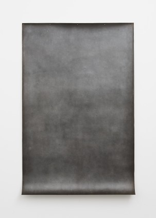 Zacaba , 1979 Graphite and earth on muslin-mounted paper 241.3 x 154.9 cm, 95 x 61 ins © Michelle Stuart