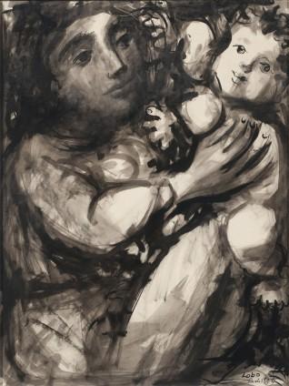 Baltasar Lobo, Mere et enfant, 1955