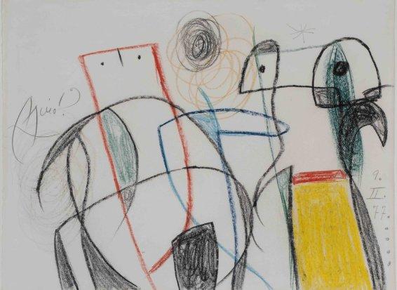 Joan Miró, Untitled, 1977