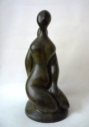 Baltasar Lobo, Jeune fille à genoux, 1968-1982