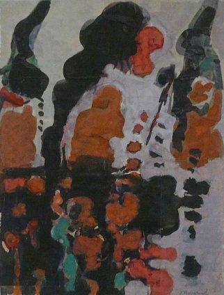 Jacob Bornfriend, Abstract Composition II