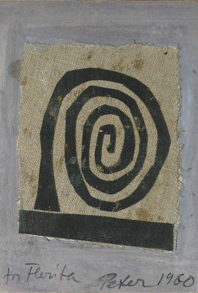 Peter Potworowski, Spiral, 1960