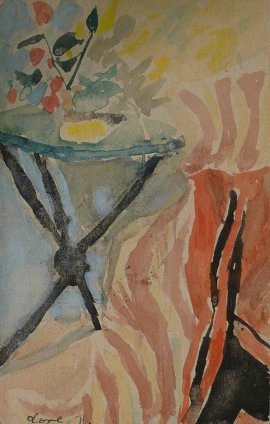 Peter Potworowski, Still life, 1948