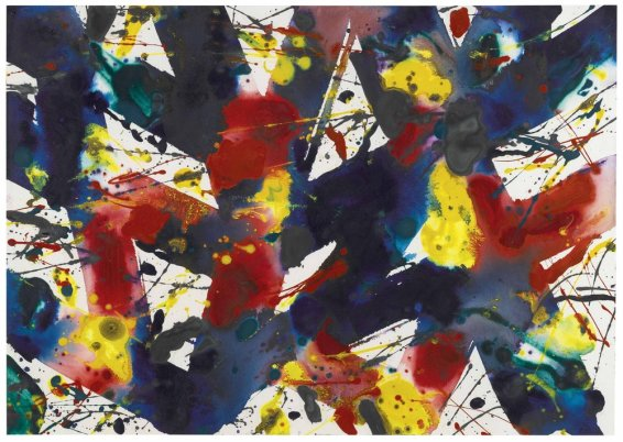 Sam Francis, Untitled (In Bern), 1978