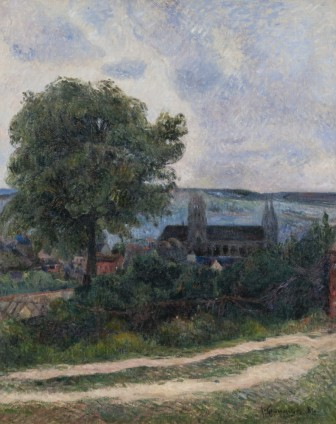 Paul Gauguin, Rouen, L'Eglise Saint-Oeun, 1884