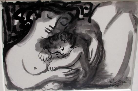 Baltasar Lobo, Mere et enfant, c. 1953