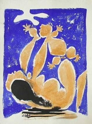 Baltasar Lobo, Mere et enfant, 1958