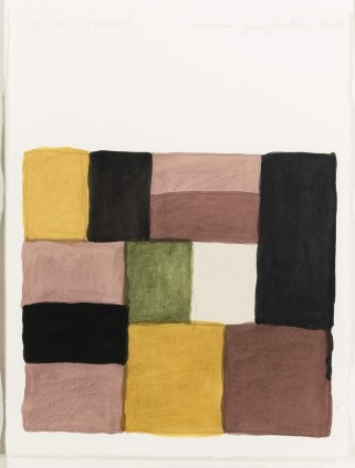Sean Scully, Yellow Corner, 2005