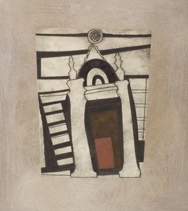 Ben Nicholson, Tuscan Church Portico 2, 1965