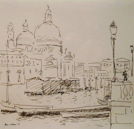 Albert Marquet, Canal San Marco, Venise, 1936