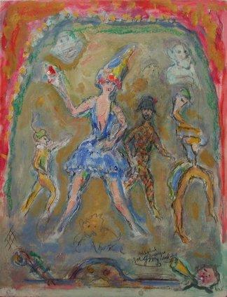 Michel Georges-Michel, Scéne de music-hall, c.1935