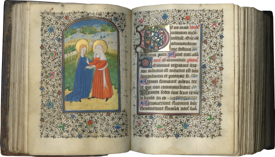 Book of Hours-Prayer Book (Use of Saint-Omer) , c. 1430-1440