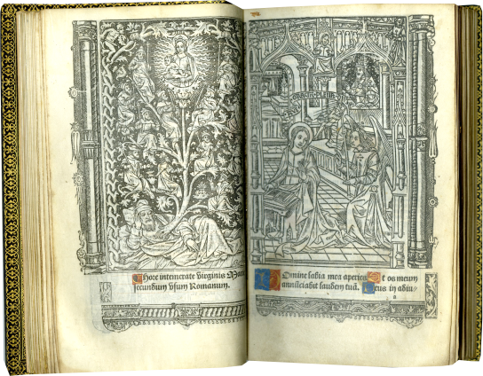 Printed Book of Hours (Use of Rome) , August 22, 1506