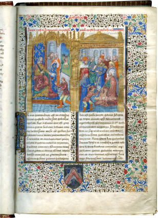 Haimo of Auxerre, Expositio in epistolas Pauli , c. 1460-1480 (before 1481) and c. 1500
