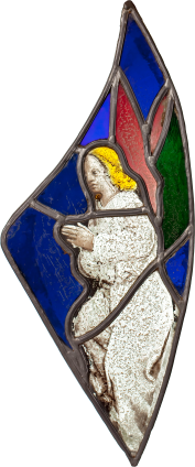 Angel Praying , 15th-16th century