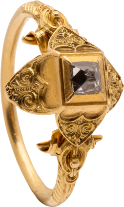 Renaissance Diamond Ring , 16th century