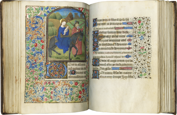 Book of Hours (Use of Paris) , c. 1460-1470