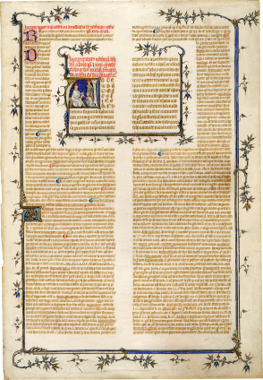 Anonymous Parisian Illuminator (Circle of Jean le Noir?) , c. 1330-1350 (after 1327)