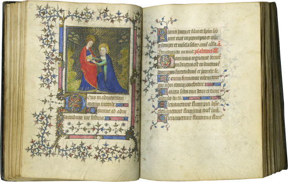 Book of Hours (Use of Paris) , c. 1400-1410