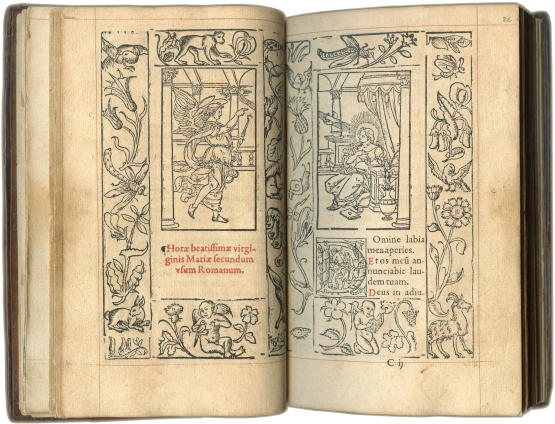 Printed Book of Hours (use of Rome) , 1556 (almanac for 1556-1563)