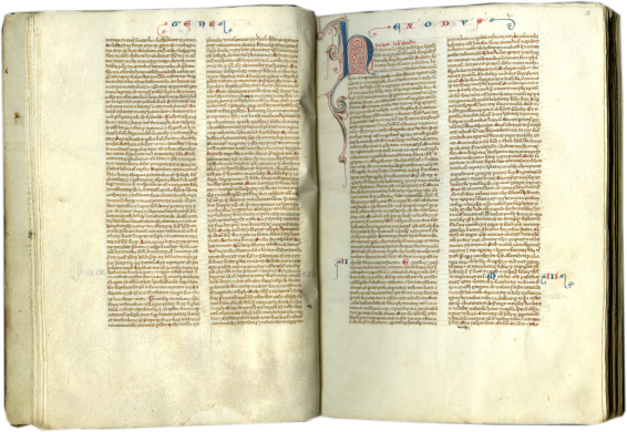 Vulgate Bible , c. 1240-1260