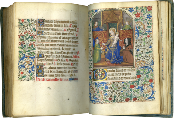 Book of Hours (use of Rouen) , c. 1480-1490; c. 1490-1500