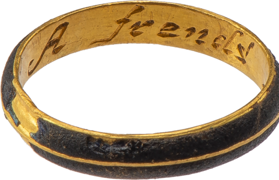"Posy Ring ""A frend's gift"" , England, late 17th-early 18th century"