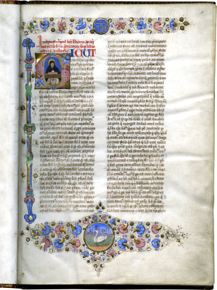 Thomas Aquinas , Sententia libri Ethicorum, or Liber super ethicorum aristotelis (Commentary on the Ethics of Aristotle) , c. 1470
