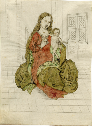 Upper Rhenish School, Madonna and Child , c. 1490