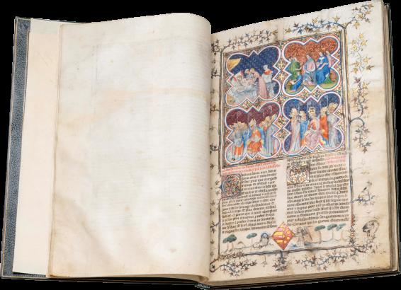 Histoire Ancienne jusqu'à César and Fait des Romains , c. 1370-80
