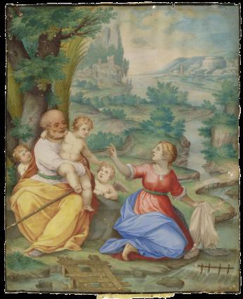 """Giovanni Battista Castello """"Il Genovese"""" , Italy, Genoa, c. 1605"""