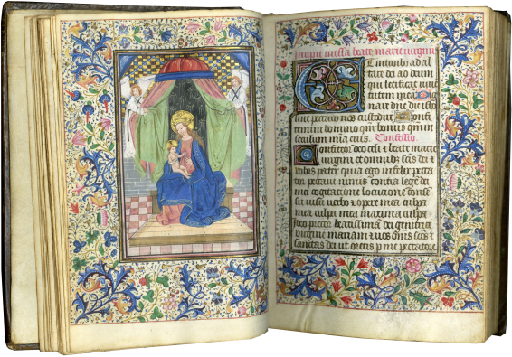 Book of Hours (use of Rome) , c. 1460-1470