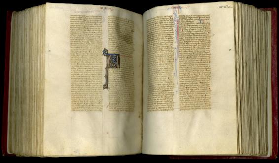 Latin Vulgate , c. 1260-1275