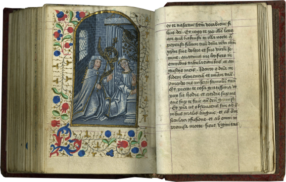 Prayer Book , c. 1460 and Lille, c. 1475