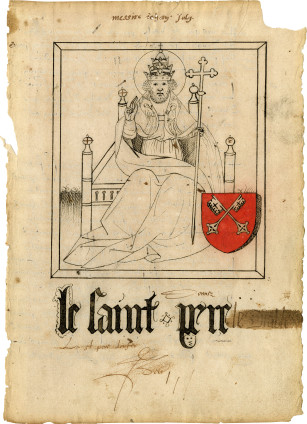 Anonymous Artist, Le Saint Pere [Pope Clement VI] , c. 1500-1550