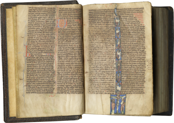 Vulgate Bible , c. 1230-1250
