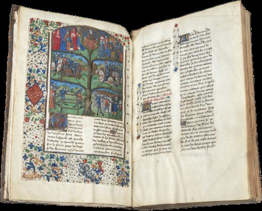 Honorat Bovet, Arbre des batailles , France (Rouen), c. 1479