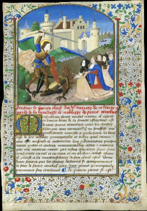 Workshop of Colin d'Amiens (Master of Coëtivy) (active Paris, c. 1460-1500) , France, Paris, c. 1460-1470