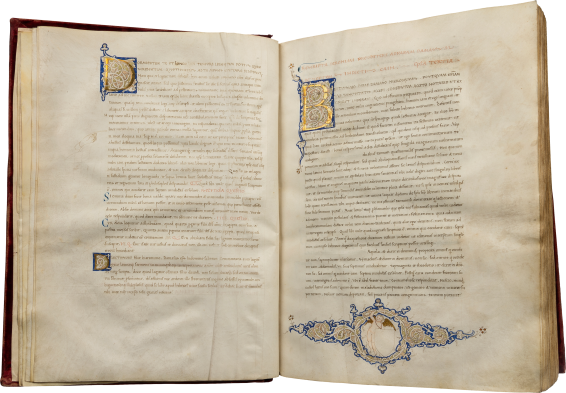 The Bembo Jerome, Epistolae (Letters) , c. 1430-1440